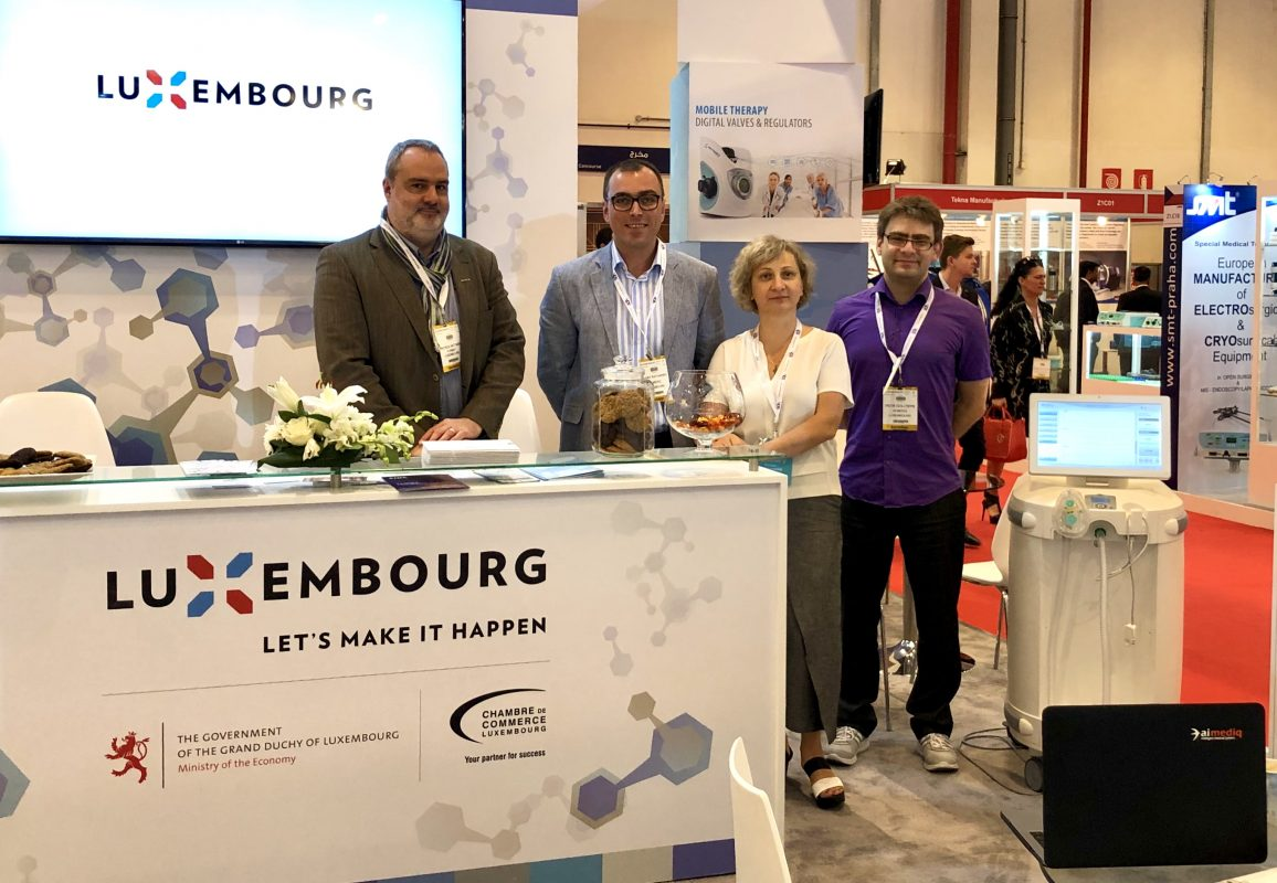 Ai Mediq at Arab Health 2019: First national pavilion of Luxembourg